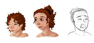 Character Aging color WIP by Alisha-town