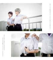 Evangelion: Shinji and Kaworu 3 by josephlowphotography