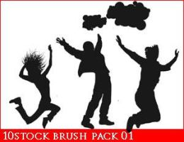 10 stock brush pack01 by 10stock