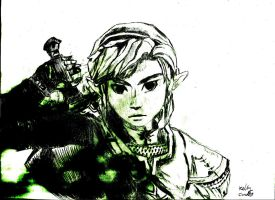 Wii U Link by Animal-Art-for-art