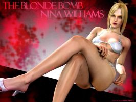 Nina Williams: DBD Wall 2 by DiamondReflection