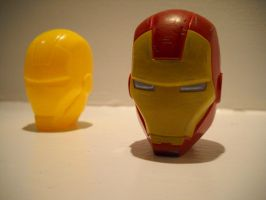 Easter Egg Ironman Avengers Marvel Head by Prowlcop