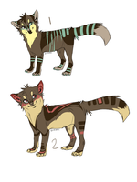 Fox adopts by MochaPupp
