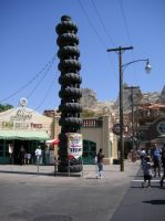 The tower of tires in Carsland. by Prince5s