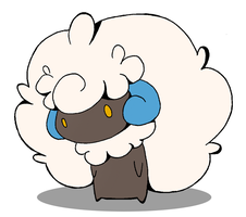 Whimsicott Color by SicksDee