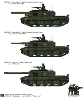 [JG] AUSPA-2 `Grenadier` and AUAT-2 `Fusilier` by EddieKenz