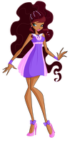WINX: Aisha\Layla retro Alfea casual by EnchantingUnixFairy