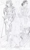 CWK rough pencils by UltimateInker