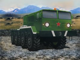 Extreme Cargo Transporter by vitalitygames