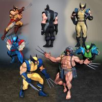 Ultimate Marvel vs Capcom 3 Wolverine by ArmachamCorp