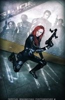 G.I. Joe - Scarlett cosplay 17 by ShadeNinja