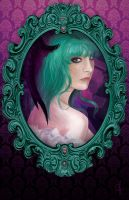 Framed: Morrigan by cosplaylala