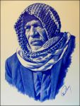 Face From Iraq by Nahidh