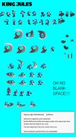 King Jules Sprite Sheet by Milanous