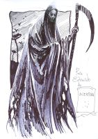 Grim Reaper by E. Alcatena by GalamothReign
