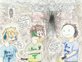 Broday at the Safe House XD by Snapes-Girl-Kat