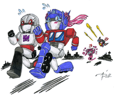 Run, Optimus, Run-- by AskyPanda