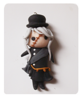 Giveaway Undertaker chibi charm by FairysLiveHere