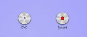 DVD and Record Icon by skippednote