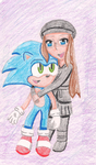 PC: Sonic and Hilda #2 by ProjectANGEL101