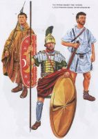 Praetorian Guard 1st-2nd C. AD by Fall3NAiRBoRnE