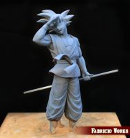 Goku- Dragon Ball Z diorama by FabricioWorks