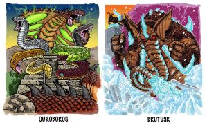 Trading Card Art Commissions 1 by fbwash