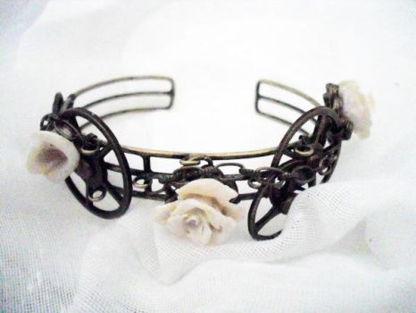 Steampunk Bracelet by WattCouture