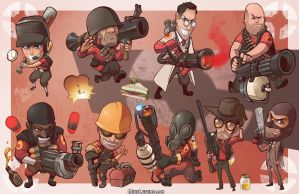 Mini Mercs (Separate version) by MikeLuckas
