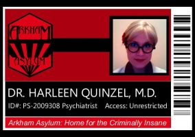 Dr Harleen Quinzel: Security by theprincessbee
