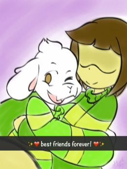 Best Friends Forever by fluffythehedgehog12