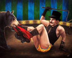The Bear Tamer by paulypants