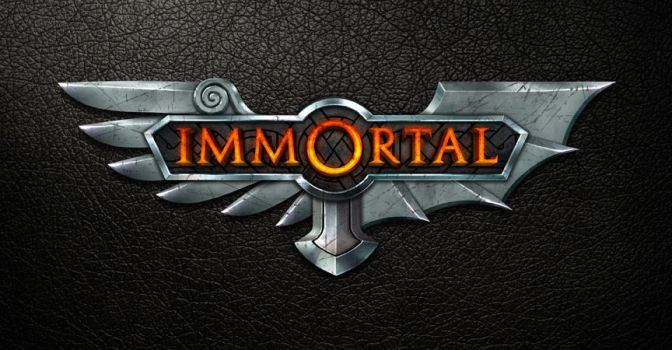 Game Logo - Immortal by TheArtOfSanhueza