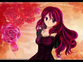 Lexi: Roses and Hair by toastiecallie