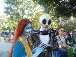 Jack Skellington and Sally by FlowerPhantom