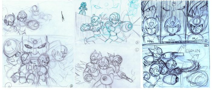 Mmx9 Sketches by Johnny-Tran