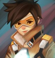 Tracer Overawatch by erlishie