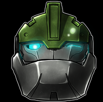 Bulkhead helm Smile by Laserbot