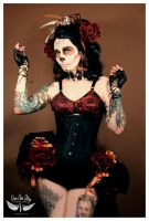 Day of the Dead girl by vivavanstory