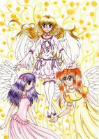 Contest Entry - Three Angels [old] by Casnovnelia