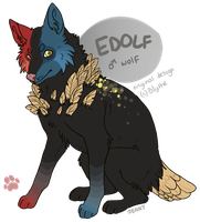 Edolf duh wolf by Kiboku