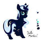 Luna disguised as Sable Moonshine by archonix