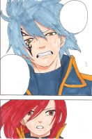 Erza and Gerard - I don't know who are you... by IshidaYuki