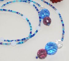 Cool Breeze Crystal Lariat by sweetdream20