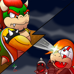 Commission: Bowser's Betrayal by Waver92