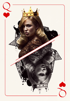 Caity Lotz Card by biryukova