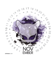november, catwoman by Myrak