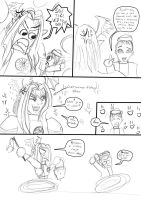 Easter, lash and Lucemon part 2 by Danitheangeldevil