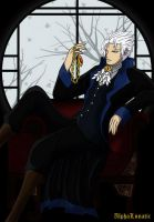 Vergil at Rest by AlphaLunatic