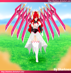 Fairy Tail 431 - Erza valkyrie form by sharknex
